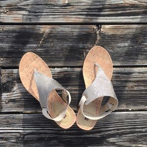 {White Mountain} All Good Wedge Sandals